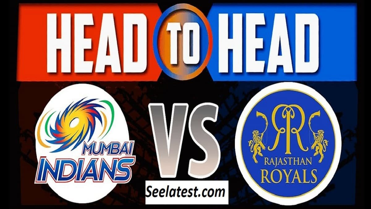 MI vs RR Head to Head: Records, Stats, Match Results and Past Encounters, IPL 2020