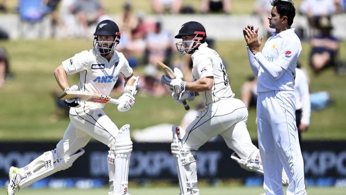 NZ vs PAK 2nd Test Highlights: Williamson & Nicholls record-breaking stand outbat Pakistan on Day 3