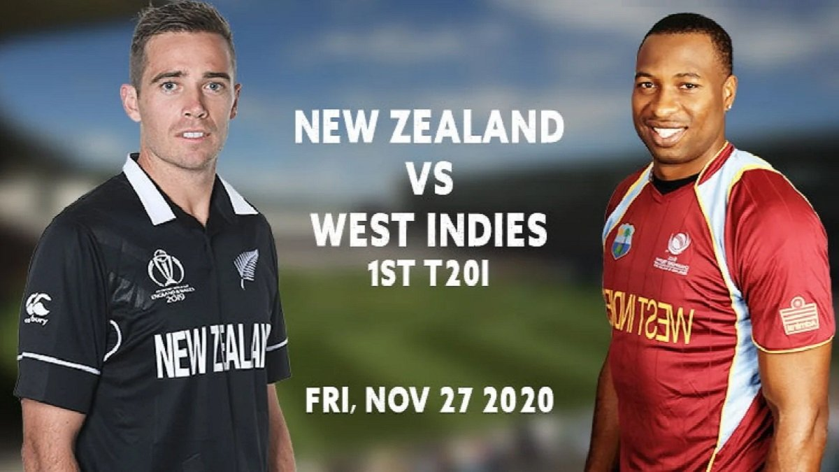 NZ vs WI 1st T20I Match Preview: The Black Caps set to play withoutWilliamson and Boult against West Indies