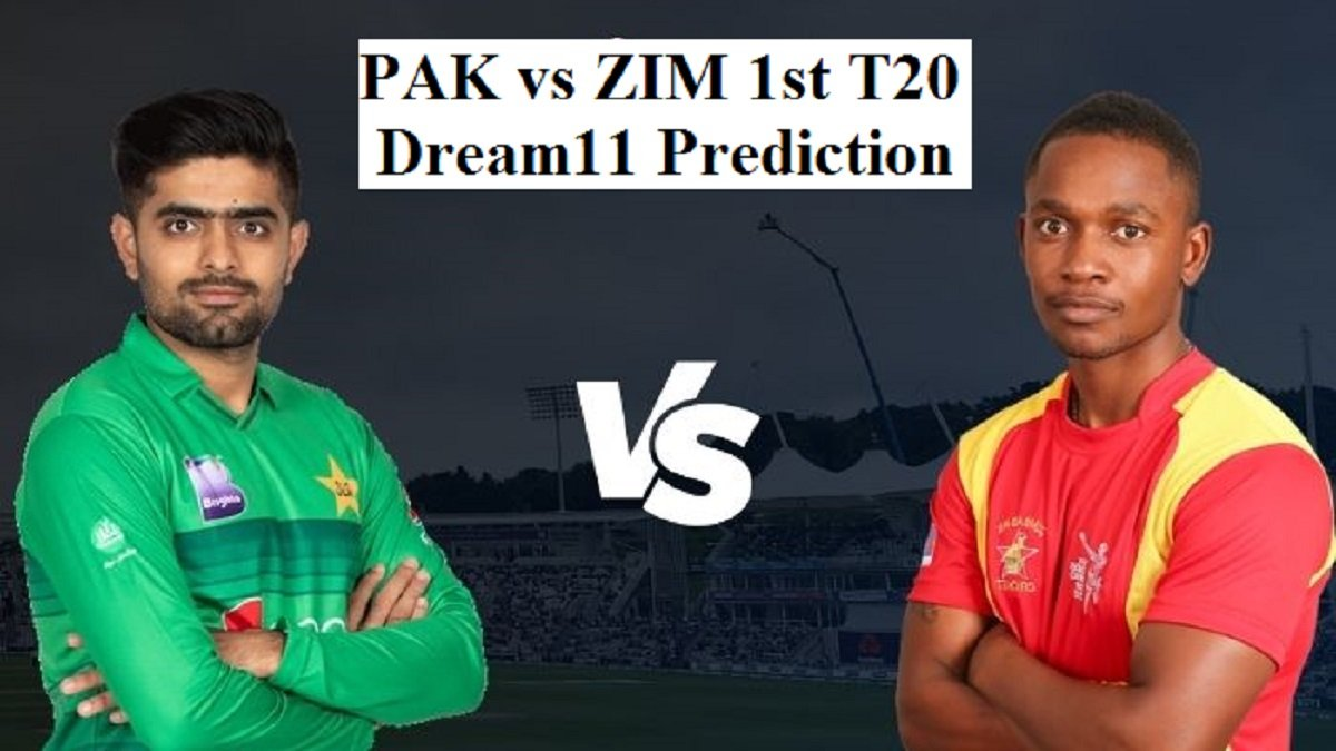 PAK vs ZIM Dream11 Prediction: Fantasy cricket tips and Playing 11 Updates for today's 1st T20 match