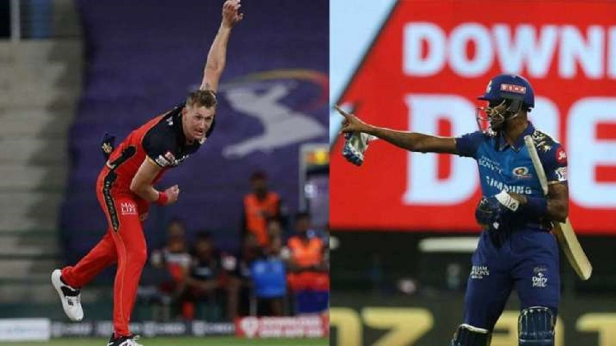 IPL 2020: Pandya and Morris exchange verbal volleys on the ground, reprimanded for IPL's Code of Conduct breach