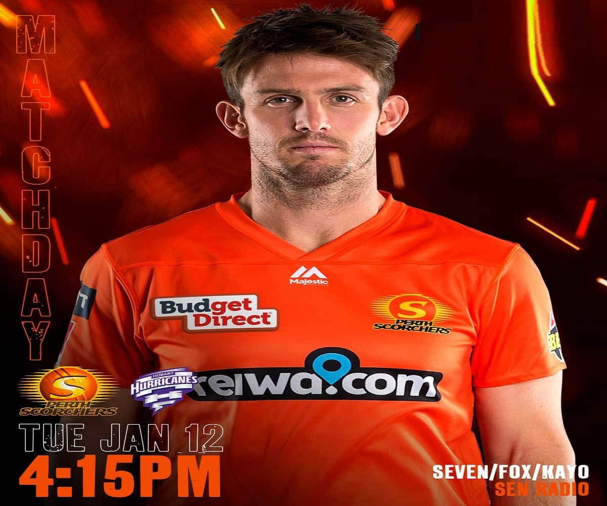 Perth Scorchers vs Hobart Hurricanes Dream11 Prediction and Fantasy Tips for Today's BBL Match