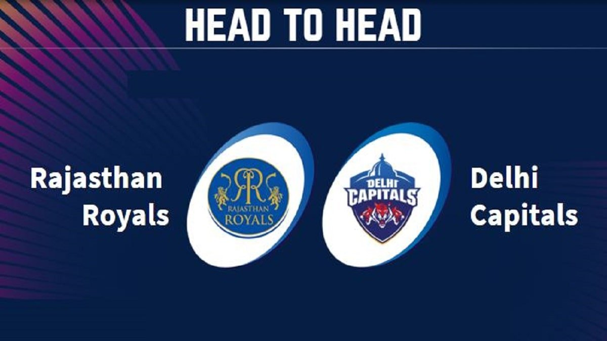 RR vs DC Head to Head: Rajasthan Royals and Delhi Capitals H2H Records, Stats in IPL History