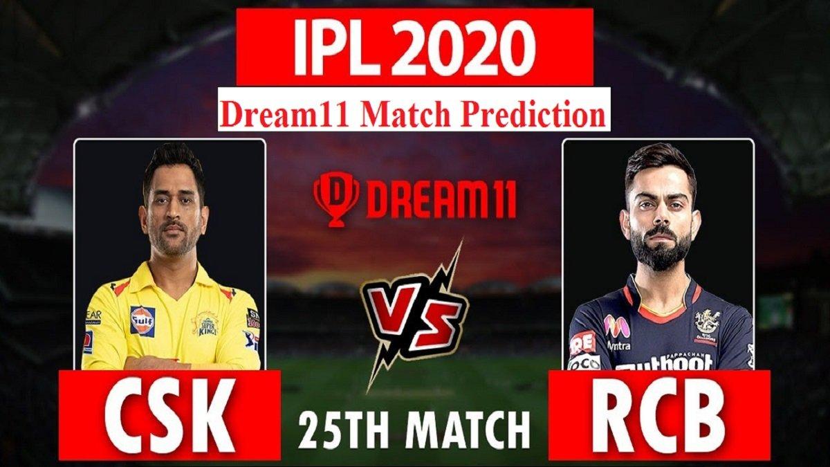 RCB vs CSKDream11 Prediction:Fantasy Cricket Tips for tonight's second double-header, Super Kings needs a desperate win