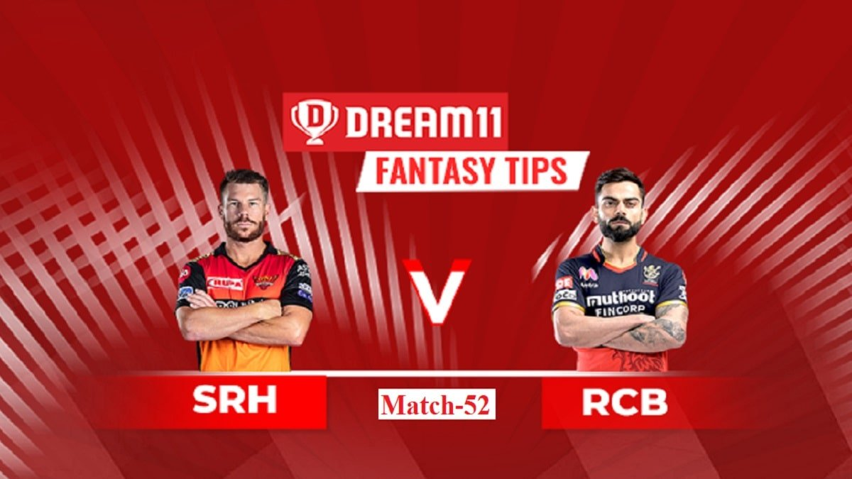 RCB vs SRH Dream11 Prediction: Fantasy Tips for today's must-win game to fill a vacant spot for the playoffs
