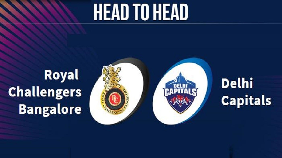 RCB vs DC Head to Head Records, stats, Results and Previous encounter in UAE
