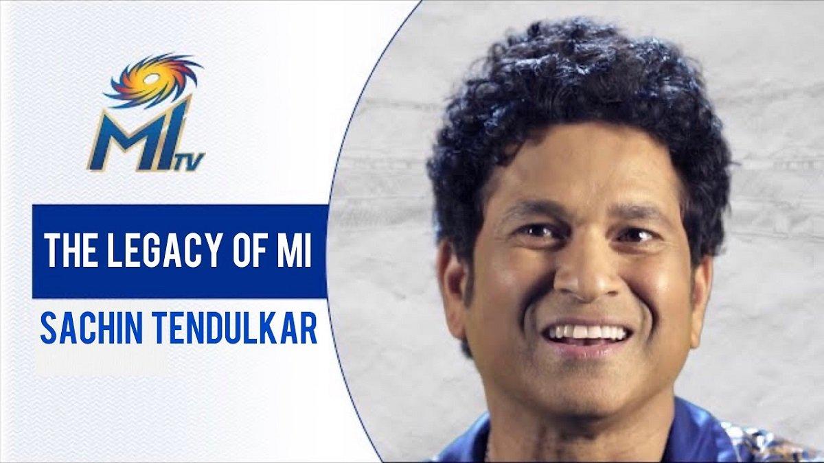 IPL 2020 MI vs DC Final: Sachin Tendulkar appreciated the legacy of Mumbai Indians ahead of title clash