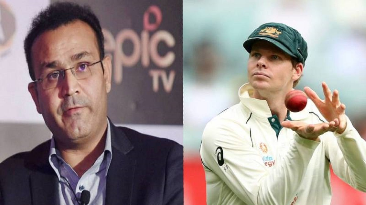 Sehwag takes a dig at Steve Smith for scuffing Pant's Batting Guard, hailing Team India effort