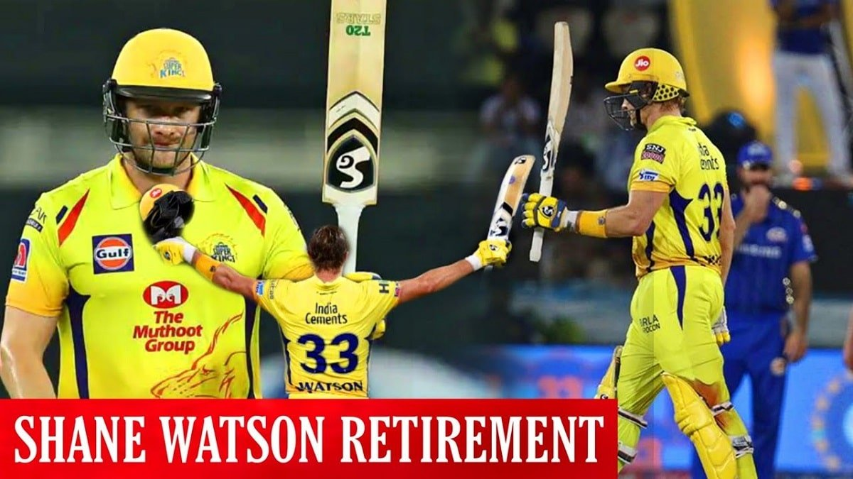 IPL 2020: CSK all-rounder Shane Watson announced retirement from all formats of Cricket