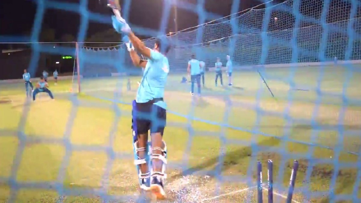 Shreyas Iyer bowled on very first ball, says 'I wasn't ready, wapas daal!'