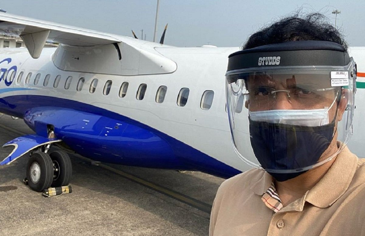 Sourav Ganguly boards the plane for UAE to examine IPL 2020 preparations