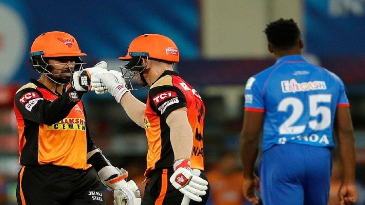 SRH vs DC Highlights: Warner & Saha's blistering innings demolish Delhi Capitals, kept its hopes alive