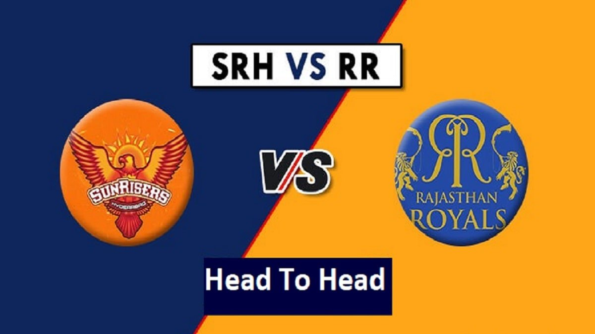SRH vs RR Head to Head: Records, Stats, Match Results and Past Encounter in IPL