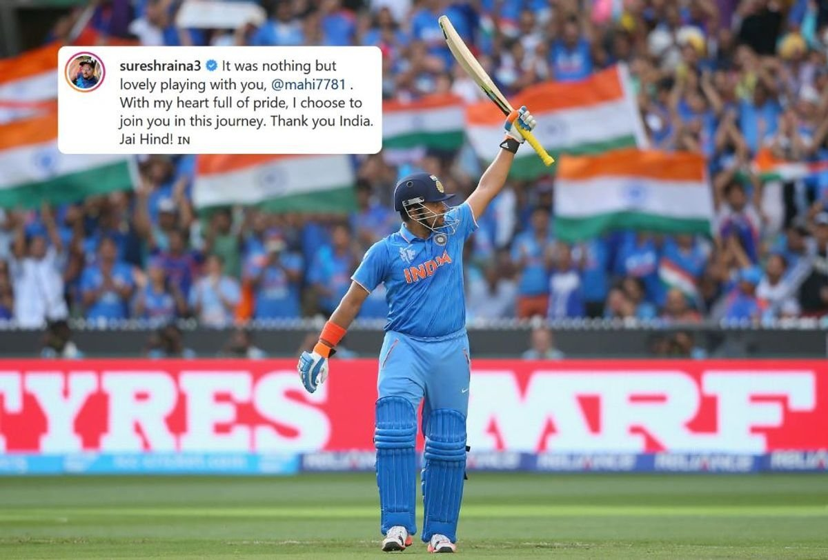 Suresh Raina announced his retirement from International Cricket after Dhoni, shares a post on Instagram, 'Mixed feelings upon retiring', writes Raina!