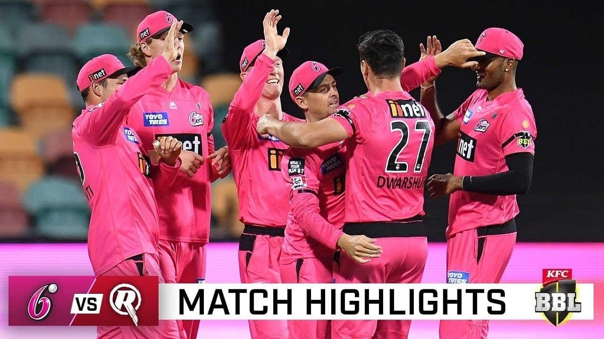 Sydney Sixers vs Melbourne Renegades Highlights: Sydney Sixers claims the biggest victory in BBL history