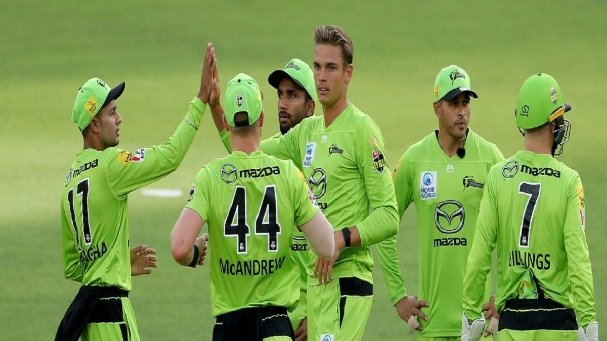 Sydney Thunder crushes Hobart Hurricanes by 39 runs to top the BBL Points Table