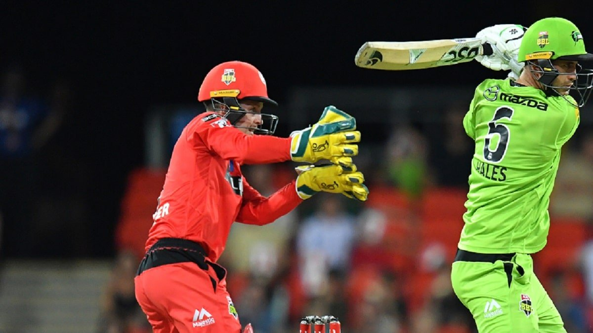 BBL 10 SYT vs MLR Highlights: Alex Hales-inspired Sydney snatches victory from Renegades' jaw