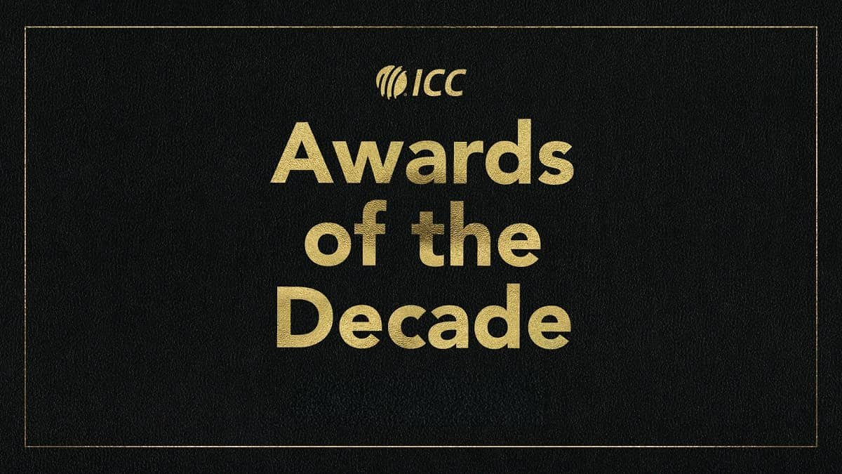 ICC Player of the Decade Awards Postponed, New Date to come out soon