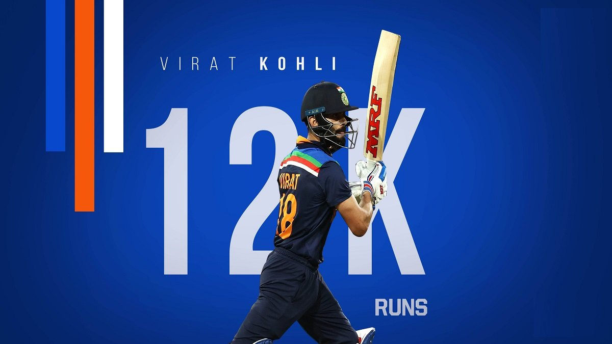 Virat Kohli becomes the fastest to 12000 ODI runs, surpasses legendary Sachin Tendulkar's record